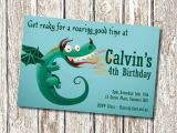 Dragon Birthday Invitations Printable Dragon Birthday Party Invitation Printable and Personalised