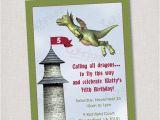 Dragon Birthday Invitations Printable Dragon Invitation Dragon or Knight Birthdy Party Invite