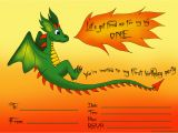 Dragon Birthday Invitations Printable First Birthday Party Invitations Free and Ready to Print