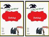 Dragon Birthday Invitations Printable How to Train Your Dragon Birthday Invitations Birthday