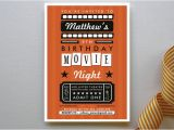 Drive In Movie Birthday Party Invitations Cool Custom Invitations for A Summer Party to Remember