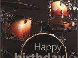 Drummer Birthday Card Birthday Card Red Drum Kit Musicroom Com