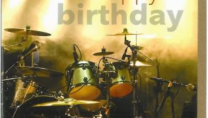 Drummer Birthday Card Drums Birthday Card