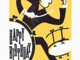 Drummer Birthday Card Happy Birthday Wishes with Drum Page 2