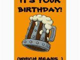 Drunk Birthday Cards Time to Get Drunk Birthday Card Zazzle Co Uk