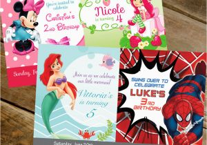 Dual Birthday Party Invitations Double Birthday Party Invitation by Claudiapartydesigns On