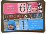 Dual Birthday Party Invitations Double Kids Birthday Party Invitations Bagvania Free