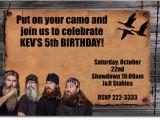 Duck Dynasty Birthday Invitations Duck Dynasty Birthday Invitations Candy Wrappers Thank