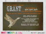 Duck Dynasty Birthday Invitations Printable Duck Hunt Duck Dynasty Inspired Birthday Party