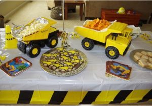 Dump Truck Birthday Party Decorations Construction Birthday Party