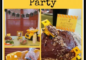 Dump Truck Birthday Party Decorations Dump Truck Birthday Party Ideas for Boys and Girls too