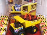 Dump Truck Birthday Party Decorations Dump Truck Cake Construction Party Ideas Supplies