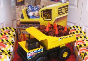 Dump Truck Birthday Party Decorations Dump Truck Cake Construction Party Ideas Supplies