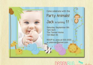 E Invitation For Baby Birthday First Invitations Bagvania Free Printable