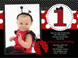 E Invitation for Baby Birthday Create Own Ladybug Birthday Invitations Templates