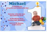 E Invitation for Baby Birthday First Birthday Party Invitation Ideas Bagvania Free