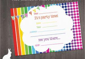 E Invitation For Birthday Party Invitations Free Printable Cards
