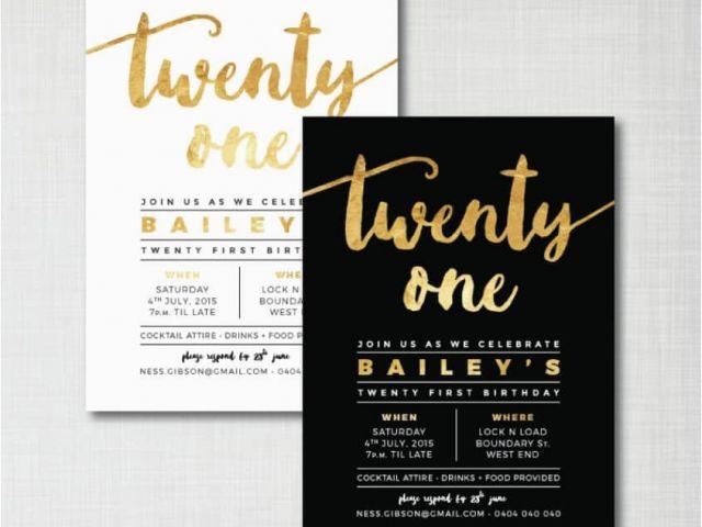 E Invite For Birthday Create 21st Invitations Free