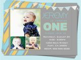 E Invites For First Birthday 6 Best Images Of Boy 1st Invitations Printable
