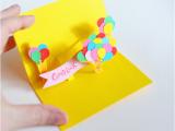 Easy Pop Up Cards for Birthdays Diy Pop Up Cards