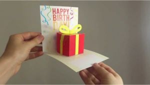 Easy Pop Up Cards for Birthdays Easy Birthday Pop Up Cards Card Design Ideas