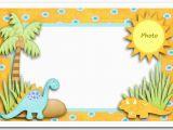 Editable 1st Birthday Invitation Card Free Download Editable Dinosaur First Birthday Invitation Card