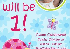Editable 1st Birthday Invitation Card Free Download First Template Unique