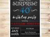Editable 30th Birthday Invitations Printable Surprise 30th Birthday Party by Diypartyinvitation
