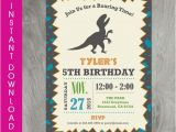 Editable Birthday Invitations Templates Free 28 Dinosaur Birthday Invitation Designs Templates Psd