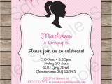 Editable Birthday Invitations Templates Free Barbie Party Invitations Template Birthday Party