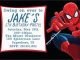 Editable Spiderman Birthday Invitation Free Printable Spiderman Birthday Invitation Templates
