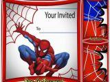 Editable Spiderman Birthday Invitation Free Spiderman Birthday Invitation Printable