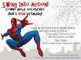 Editable Spiderman Birthday Invitation Spiderman Birthday Invitations Free Printable Spiderman
