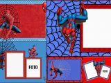 Editable Spiderman Birthday Invitation Spiderman Free Printable Invitations Cards or Photo
