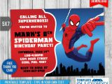 Editable Spiderman Birthday Invitation Tips Easy Free Editable Spiderman Birthday Invitation New