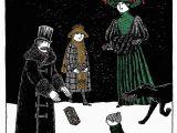 Edward Gorey Birthday Card Fruitcake Holiday Cards