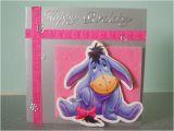 Eeyore Birthday Card Eeyore Birthday Card Pink Flickr Photo Sharing