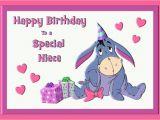 Eeyore Birthday Card Eeyore Personalised A5 Birthday Card Daughter Niece