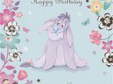 Eeyore Birthday Card Happy Birthday Eeyore Pinterest