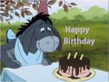 Eeyore Birthday Card Happy Birthday Wishes with Eeyore Page 2