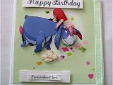 Eeyore Birthday Card Winnie the Pooh Birthday Card Eeyore by Designsbykatievcraft