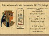 Egyptian Birthday Invitations 17 Best Images About Egypt Birthday On Pinterest Jewels