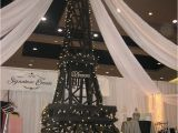 Eiffel tower Birthday Decorations Eiffel tower Party Decorations Signature events Rental