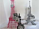 Eiffel tower Birthday Decorations Paris Party Decoration Eiffel towers Parisian Centerpiece