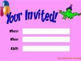 Electronic Birthday Invitations Templates Electronic Birthday Invitations