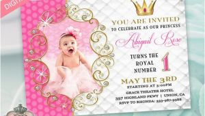 Electronic Birthday Invites Princess Birthday Party Invitation for Girl Evite