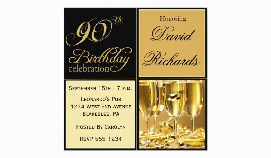 Elegant 90th Birthday Decorations Party