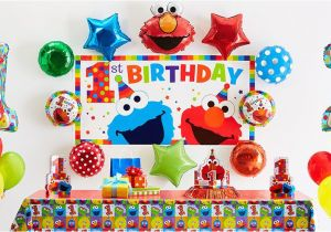 Elmo 1st Birthday Decorations Party Supplies City