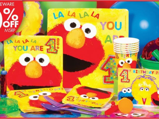 Download By SizeHandphone Tablet Desktop Original Size Back To Elmo 1st Birthday Party Decorations