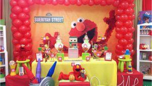 Elmo 1st Birthday Party Decorations Elmo Sesame Street Birthday Quot Elmo 1st Birthday Party